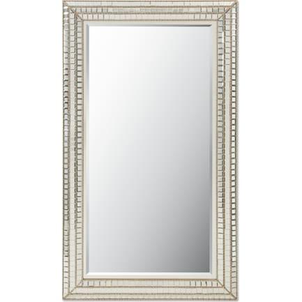 Triple Mosaic Floor Mirror