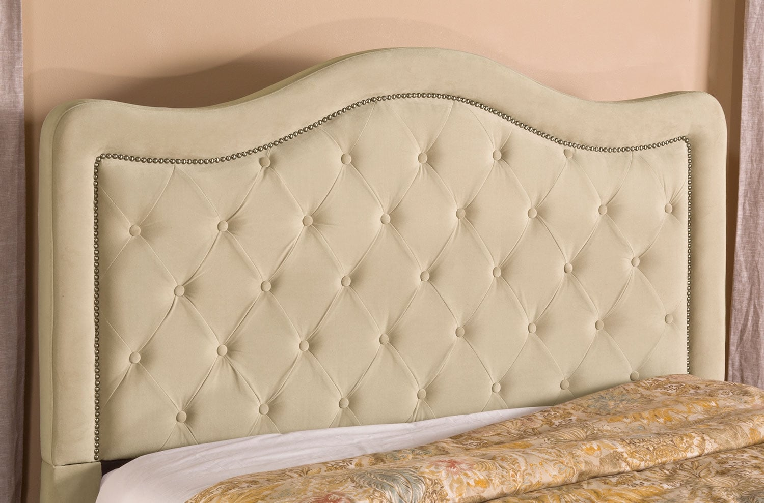 Bedroom Furniture - Tris Queen Upholstered Headboard