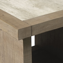 tucson gray end table