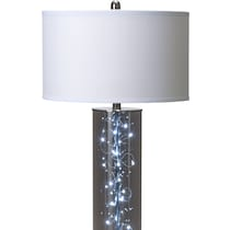 twinkle gray floor lamp
