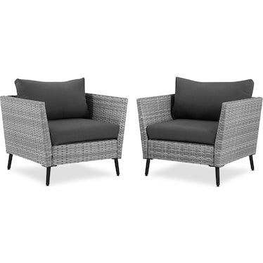 Ventura Set of 2 Outdoor Chairs