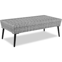 ventura gray outdoor loveseat set