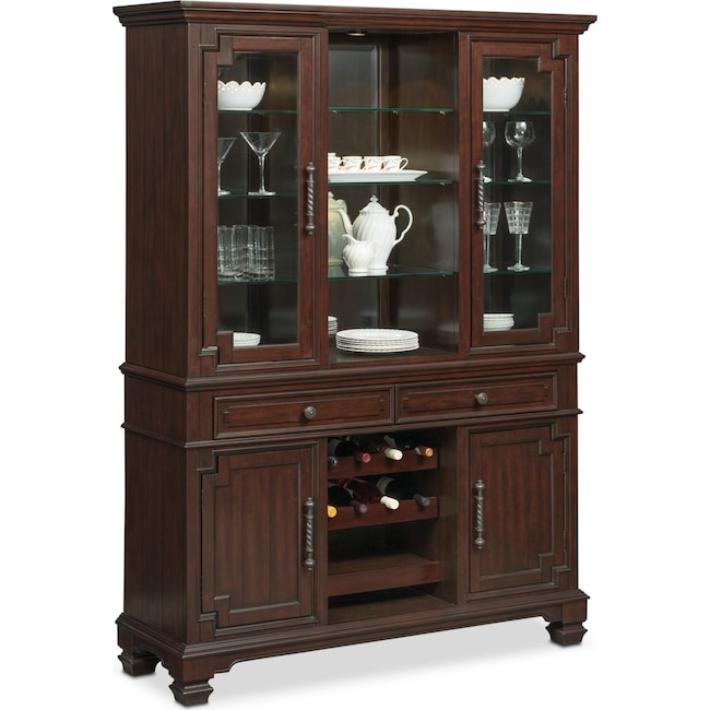 Accent and Occasional Furniture - Vienna Buffet and Hutch