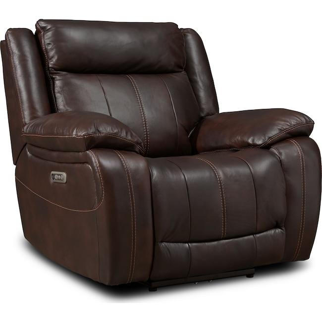 Living Room Furniture - Vince Dual-Power Recliner