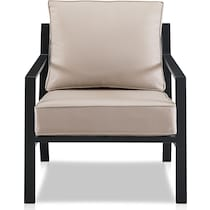 watson light brown outdoor chair set