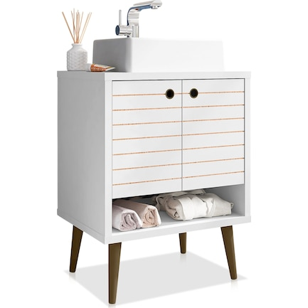 "Webb 24"" Bathroom Vanity - White"