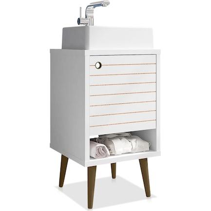 "Webb 18"" Bathroom Vanity - White"