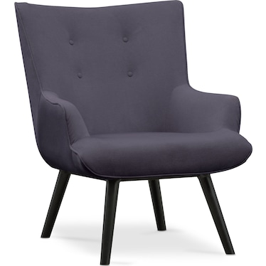 West End Accent Chair - Gray