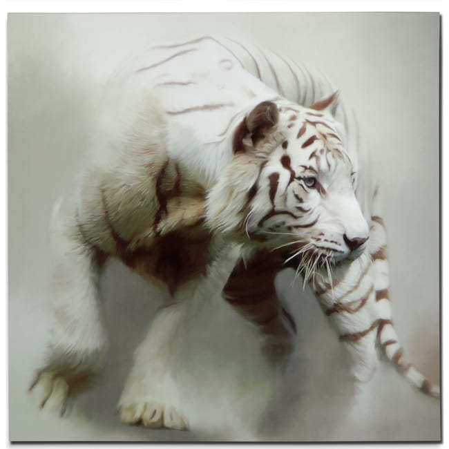 Home Accessories - White Tiger Canvas Print
