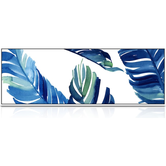 Home Accessories - Windowpane Palms Wall Art
