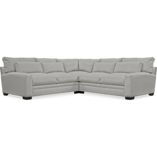 Living Room Furniture - Winston 3-Piece Sectional