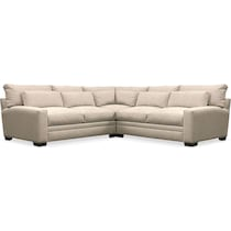 winston light brown  pc sectional