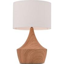 wood table lamp light brown table lamp