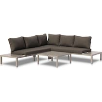 wynwood gray outdoor sectional set