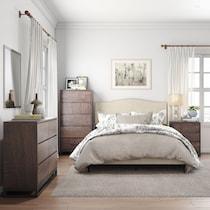 xander dark brown dresser