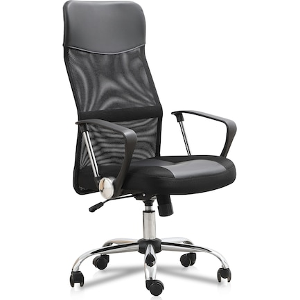 Xyon Office Chair - Black